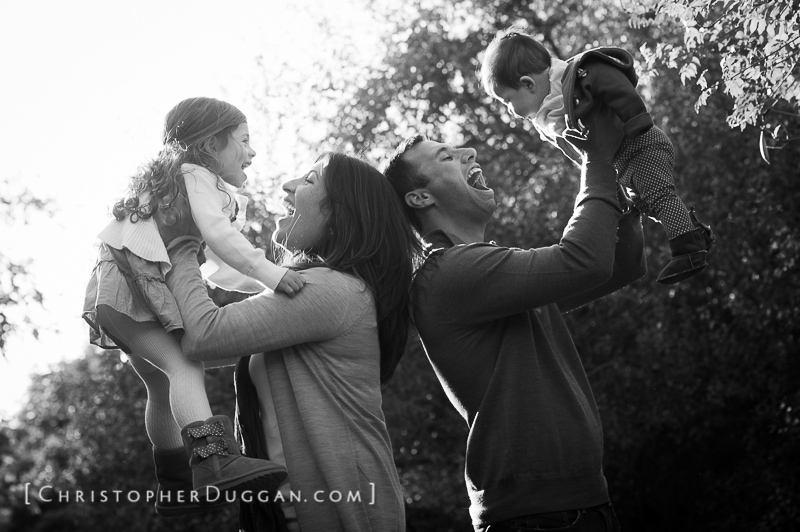Fall Family Portraits in New York
