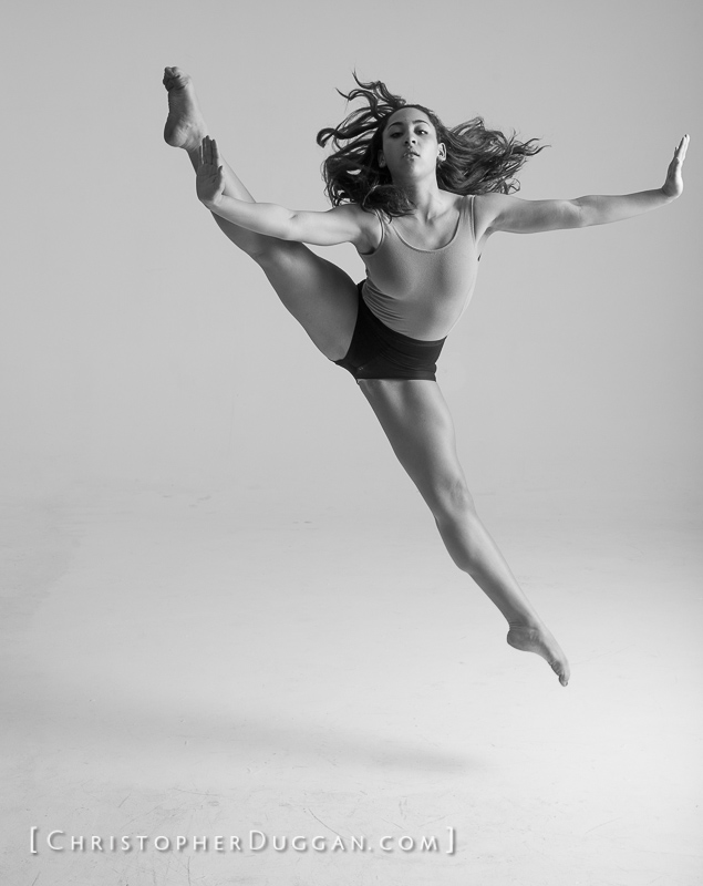 Natalie Henry, Dance photo shoot in NYC