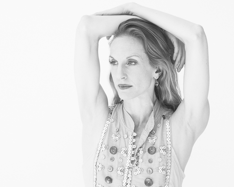 Wendy Whelan in my natural light studio at Jacob's Pillow Dance Festival