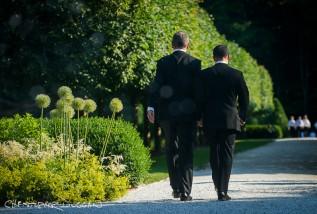 Joe & Darius's wedding at the Mount in Lenox, MA