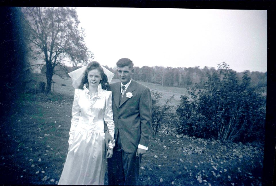 Barb's grandparents 1948