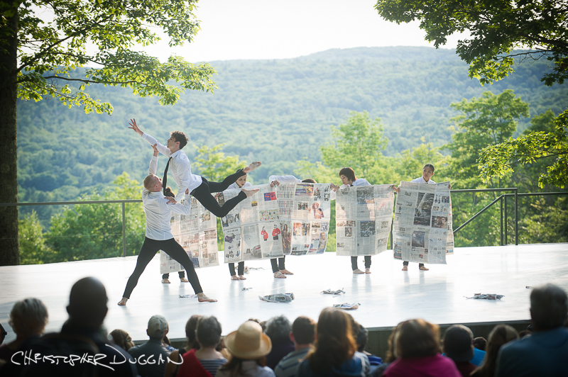 Oui Danse at Inside/Out at Jacob's Pillow Dance Festival 2014