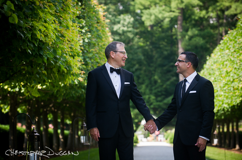 Joe & Darius | Wedding at The Mount in Lenox, MA