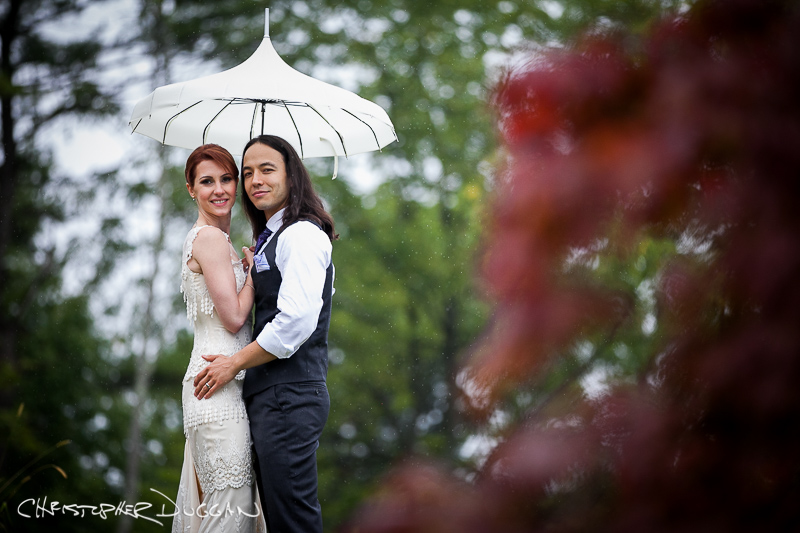 Beth & Eric's Shakespeare on the Hudson wedding photos in Catskill, NY by Christopher Duggan Photography