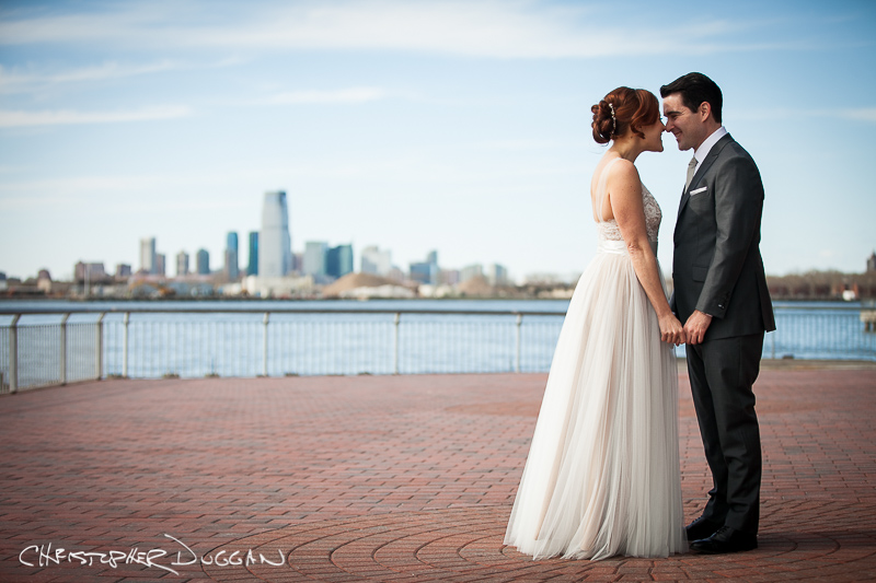 Melissa & Cory | Liberty Warehouse Wedding Photos in Brooklyn