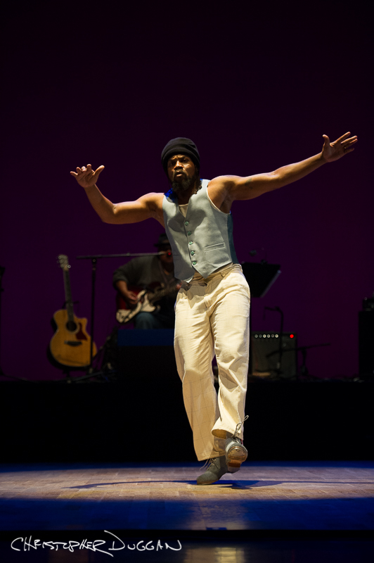 "Derick K. Grant in ""The Blues Project""; photo Christopher Duggan"