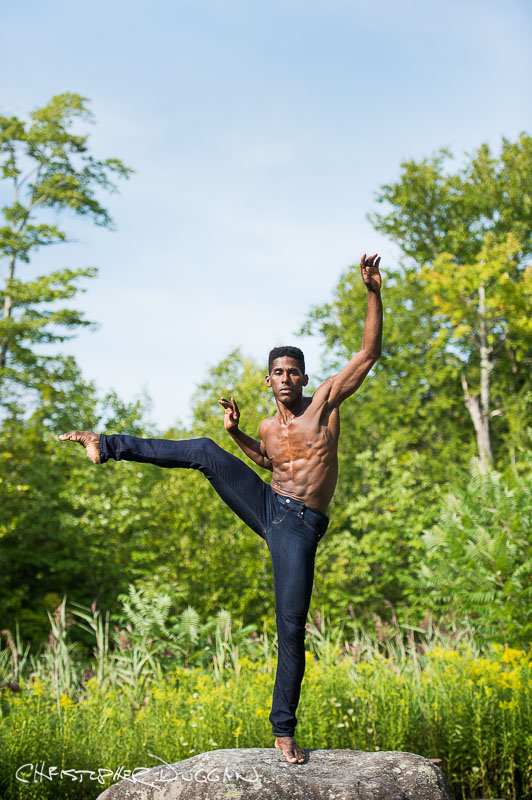 Lloyd Knight of Martha Graham Dance Company