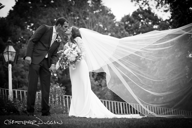 Danielle & Alex's private home wedding photos in Woodbury, CT by Christopher Duggan Photography