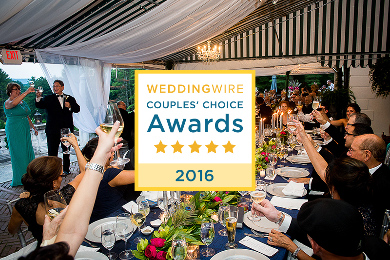 We Won the WeddingWire Couples' Choice Award Again for 2016