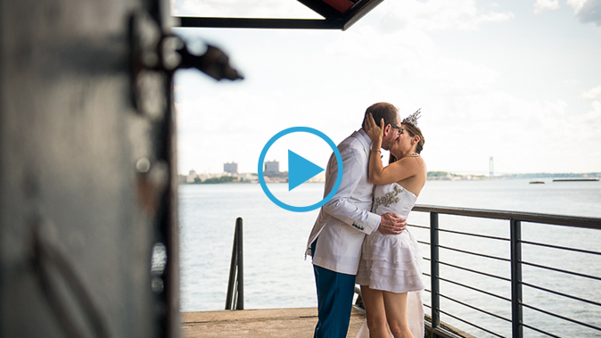 The Liberty Warehouse Wedding Film | Jordana & Gary