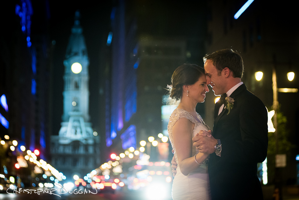 Philadelphia Wedding Photos at The Kimmel Center | Melissa & Marc