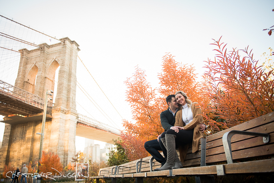 Brooklyn Bridge Park Engagement Photos | Tamara & Marko