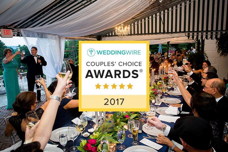 We Won the WeddingWire Couples' Choice Award Again for 2017