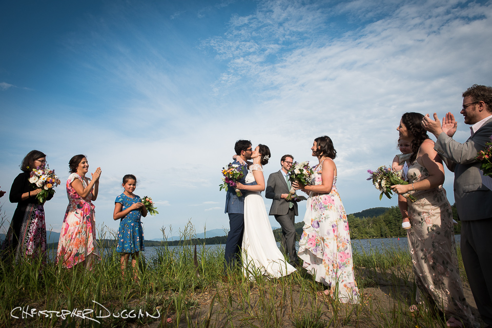 Adirondacks Wedding Photos | Stunning Scenery at Long Lake