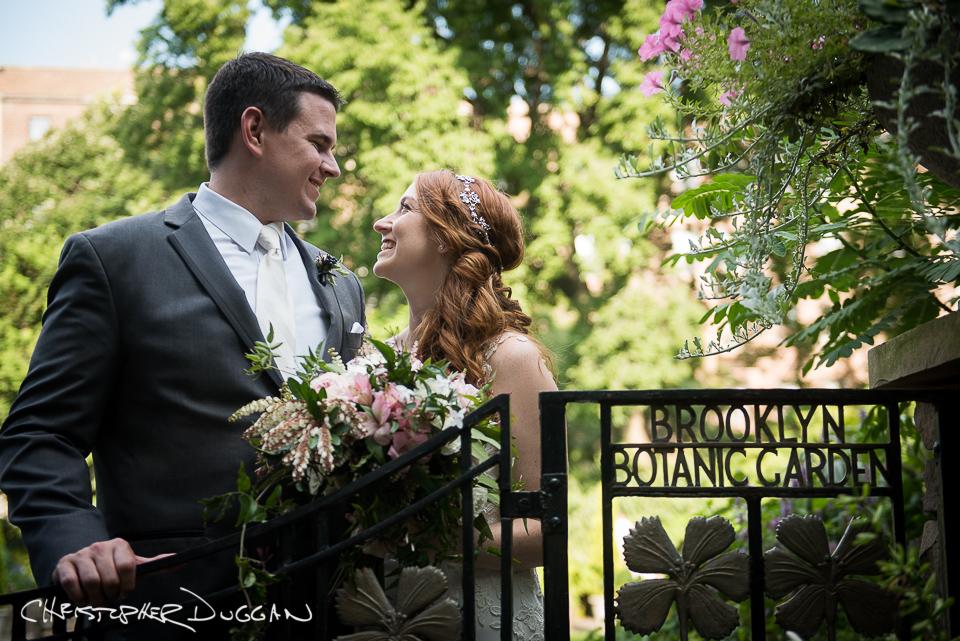 Michele & Tyler | Brooklyn Botanic Garden Wedding