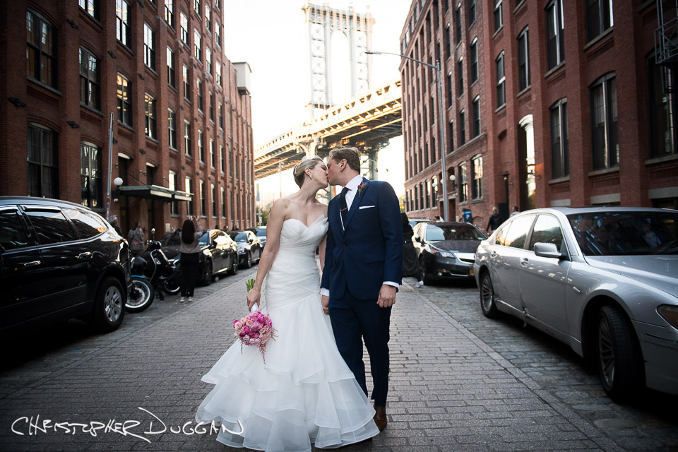 Chelsea & Charlie | 26 Bridge Wedding in Brooklyn, NY