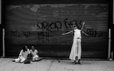 Dance Photoshoot With Netta Yerushalmy & Dancers   Jacob's Pillow Duke Lobby Exhibition