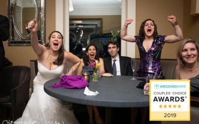 2019 WeddingWire Couples' Choice Award | Christopher Duggan Photography