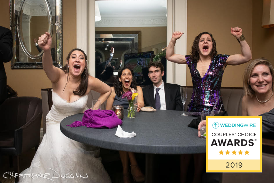 2019 WeddingWire Couples' Choice Award | Christopher Duggan Photography
