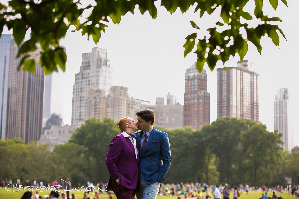 Ezra & Nicholas   Wedding Photos at Robert NYC