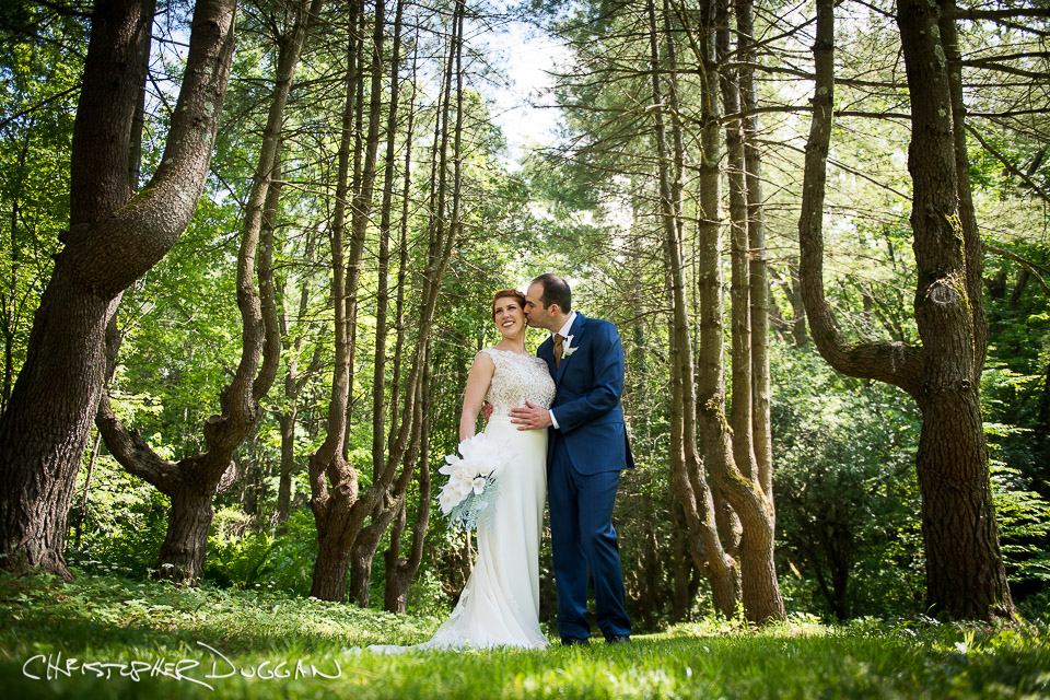 Gracie & Kevin | Wedding Portraits at Seven Hills Inn
