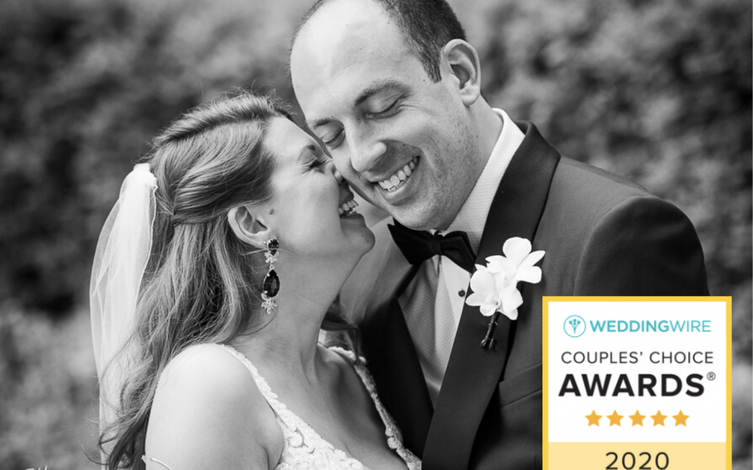 WeddingWire's Couples' Choice Award 2020
