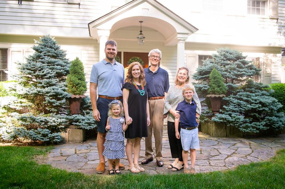 Ridgefield Connecticut Family Portrait Session