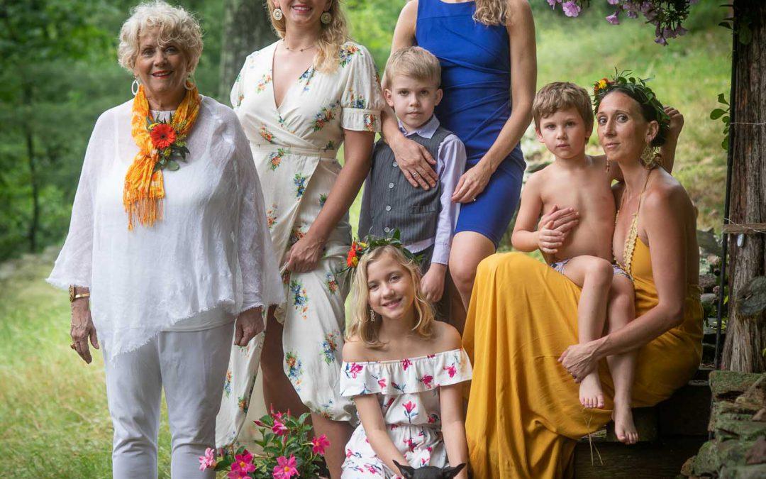 Celebrating Belle's 70th Birthday   Family Portraits