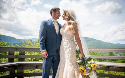Becky & Blake | Wedding at the Onteora Mountain House