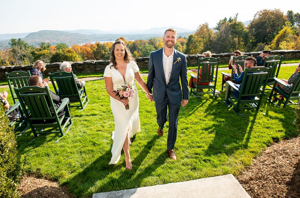 Fall Seranak Wedding Portraits at Tanglewood